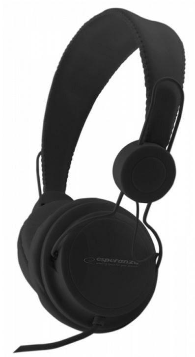 Esperanza EH148K SENSATION Słuchawki Audio Stereo z Regulacją Głośności | 3m