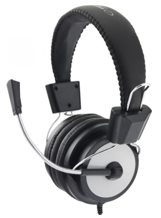 Esperanza Słuchawki Stereo z Mikrofonem i Regulacją Głośności EAGLE EH154K