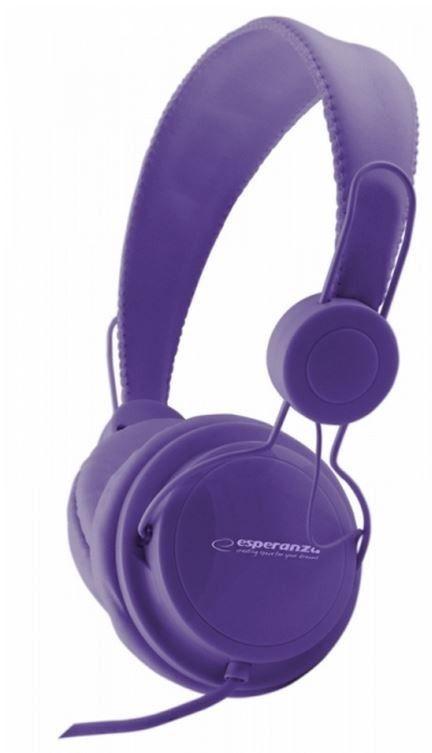 Esperanza EH148V SENSATION Słuchawki Audio Stereo z Regulacją Głośności | 3m