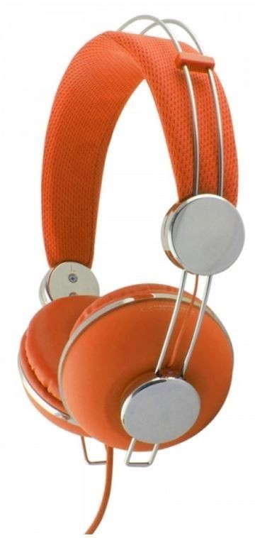 Esperanza EH149O MACAU Słuchawki Audio Stereo z Regulacją Głośności | 3m