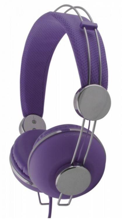Esperanza EH149V MACAU Słuchawki Audio Stereo z Regulacją Głośności | 3m