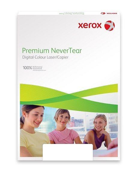 Xerox Papír Premium Never Tear PNT Quick Menu 195 A4 horizontal (258g/100 listů, A4)