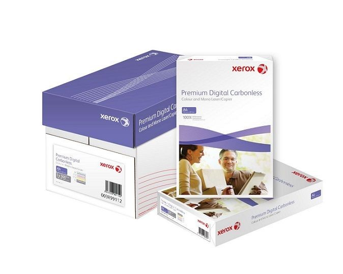Xerox Papír Premium Digital Carbonless SRA2 CF YELLOW (80g/500 listů, SRA2) - průpisový papír / volné listy