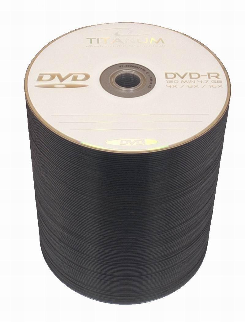 Titanum DVD-R 4,7GB 16x (szpindel, 100szt)