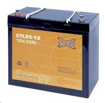 CyberPower Baterie - CTM CTL 55-12 (12V/55Ah - M6)