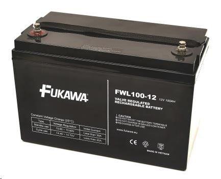 CyberPower Baterie - FUKAWA FWL 100-12 (12V/100 Ah - M6) SLA baterie