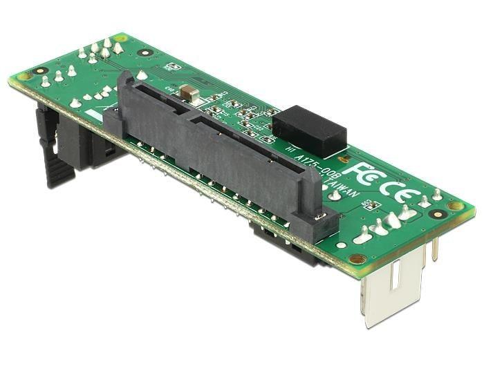DeLOCK Konwerter SATA Host > 2 x urządzenie SATA z obsługą RAID