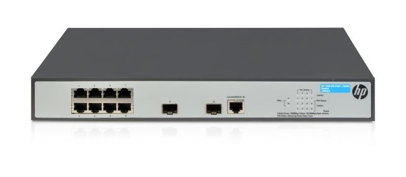 HP 1920-8G-PoE+ (180W) Switch (JG922A)