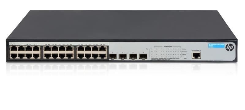 HP 1920-24G-PoE+ (180W) Switch (JG925A)
