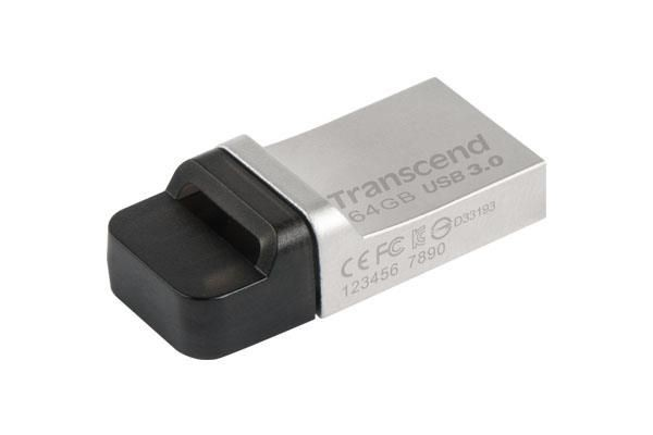 Transcend pamięć USB Jetflash 880 64GB USB 3.0 OTG USB + micro USB