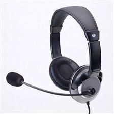 Impuls-PC Słuchawki IP-703 MV nauszne z mikrofonem