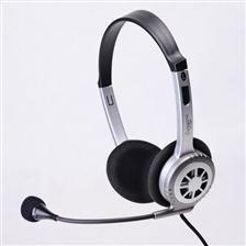 Impuls-PC Słuchawki IP-714 MV nauszne z mikrofonem