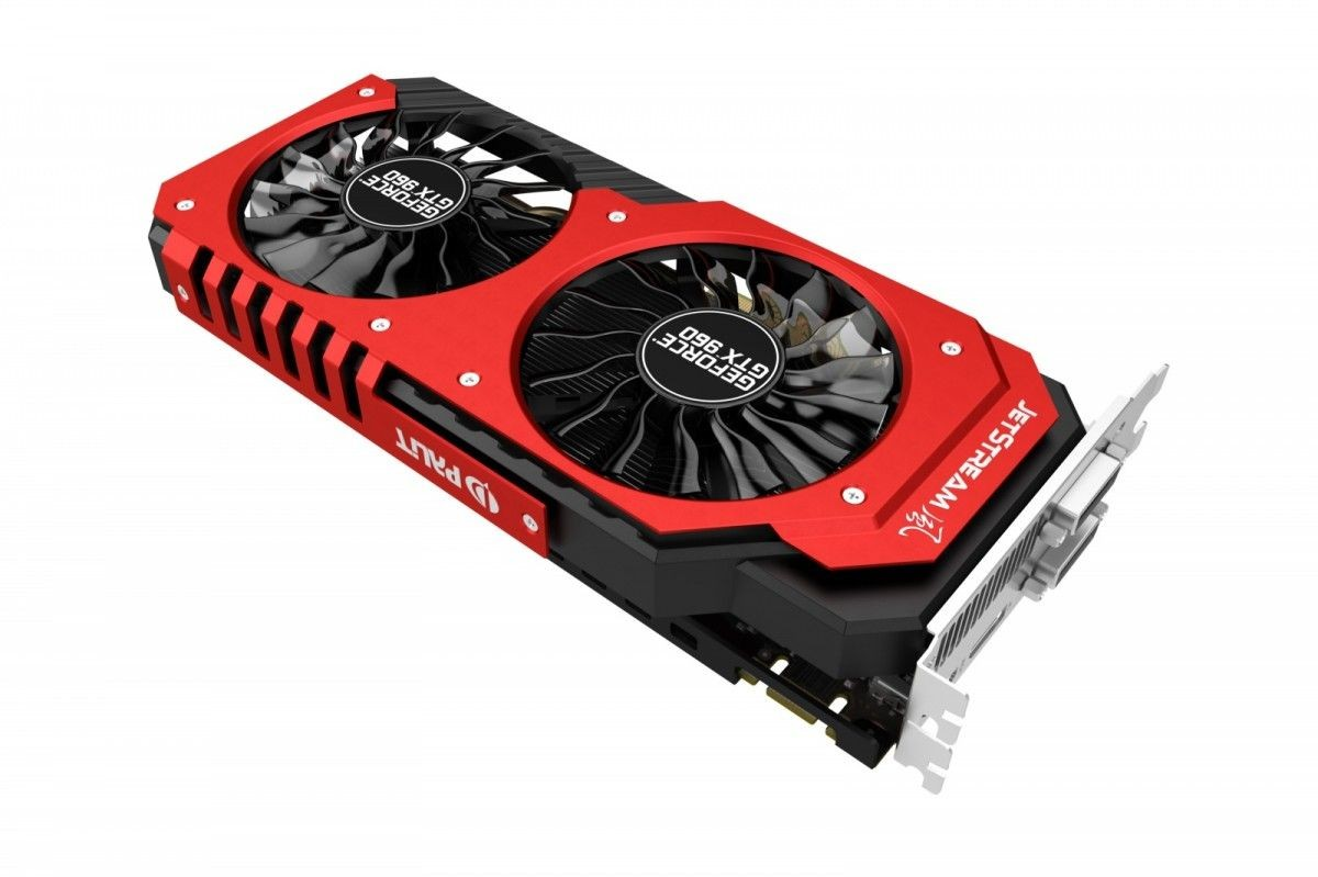 Palit KARTA PCI-E 2048MB GDDR5 GEFORCE GTX960 Super JetStream 128bit 2xDVI/HDMI/DP retail /PALIT