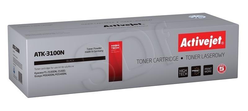 ActiveJet Toner ActiveJet ATK-3100N | Czarny | 12500 pp | KYOCERA TK-3100