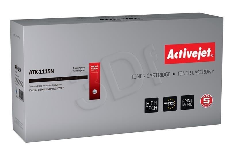 ActiveJet Toner ActiveJet ATK-1115N | Czarny | 1600 pp | KYOCERA TK-1115