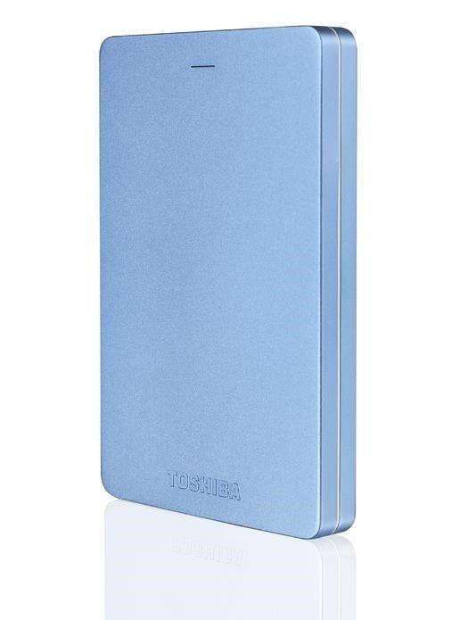 "Toshiba Canvio Alu 3S 1000 GB, 2.5 "", USB 3.0, Blue"