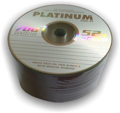 Platinum CD-R 700 MB 52x SZPINDEL 50