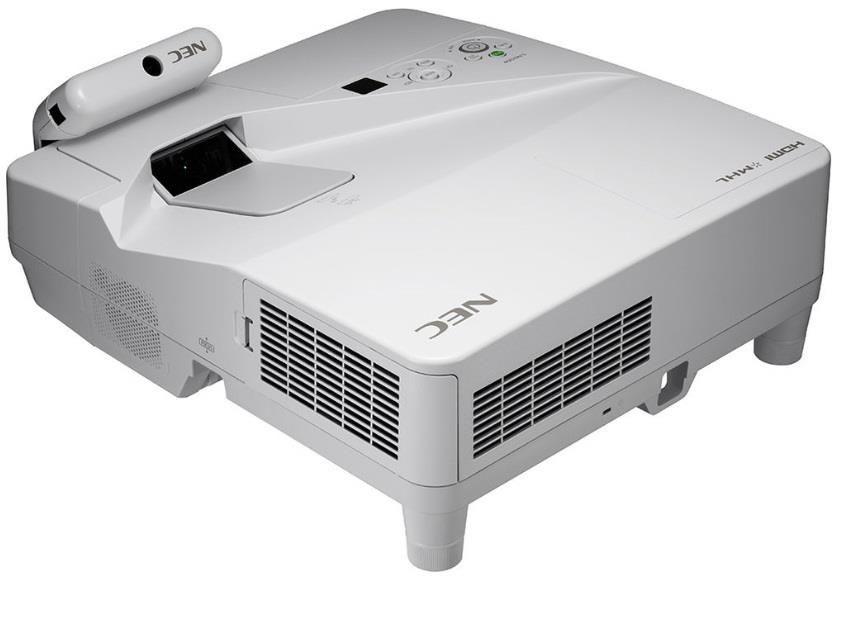 NEC Projektor UM361Xi (LCD, XGA, 3600AL incl. Wall-mount +Interactive multipen)