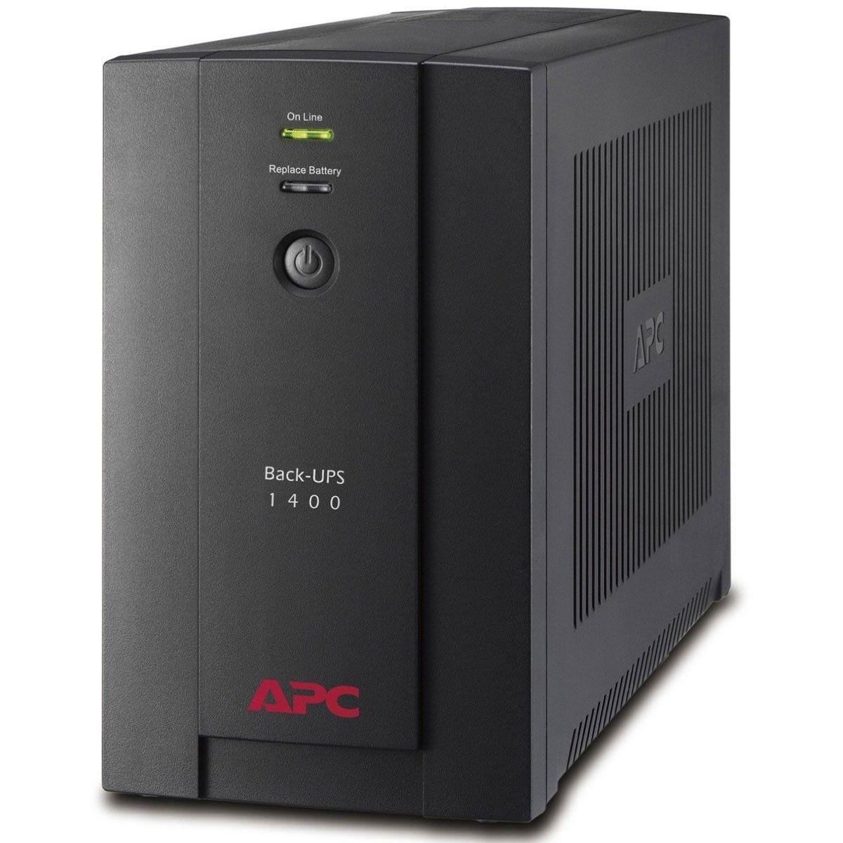 APC Back-UPS 1400VA, 230V, AVR, FR/PL