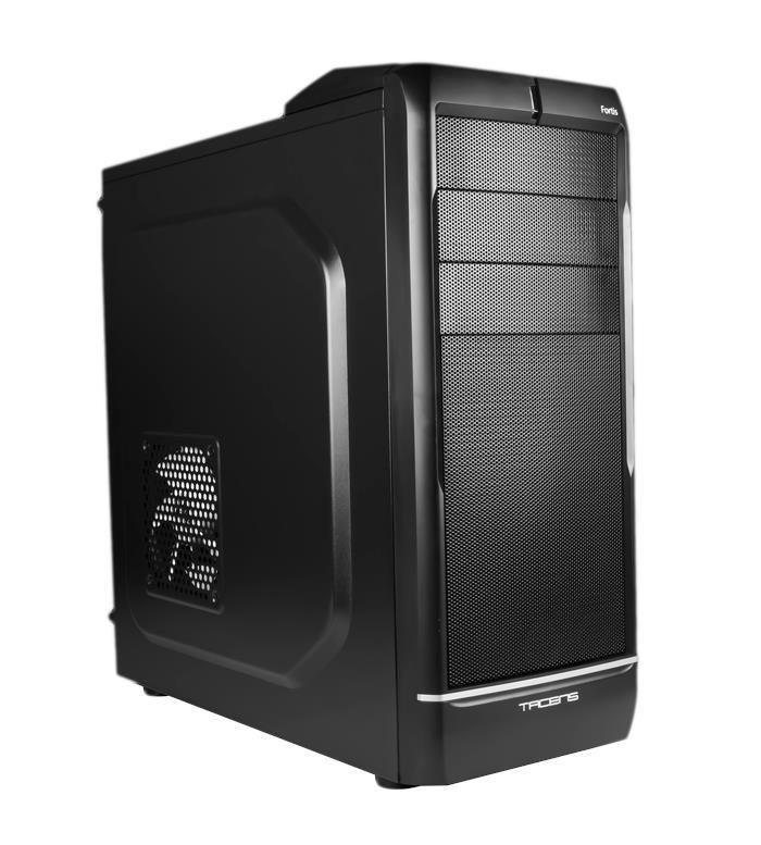 TACENS FORTIS, USB 3.0, Obudowa ATX , czarna (bez zasilacza)