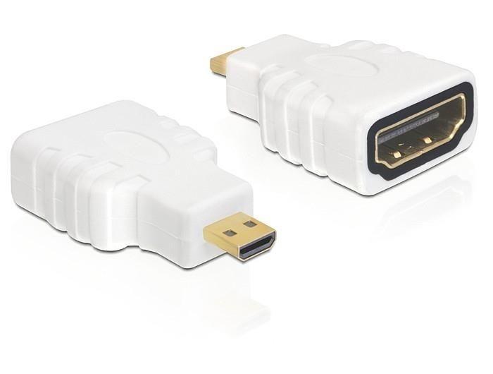 DeLOCK Adapter HDMI-D micro (M) > HDMI (F)