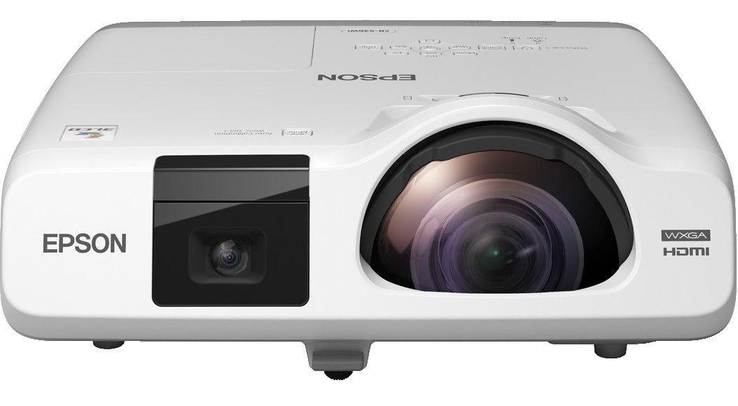 Epson Projektor EB-536Wi 3LCD WXGA/3400/16000:1/LAN
