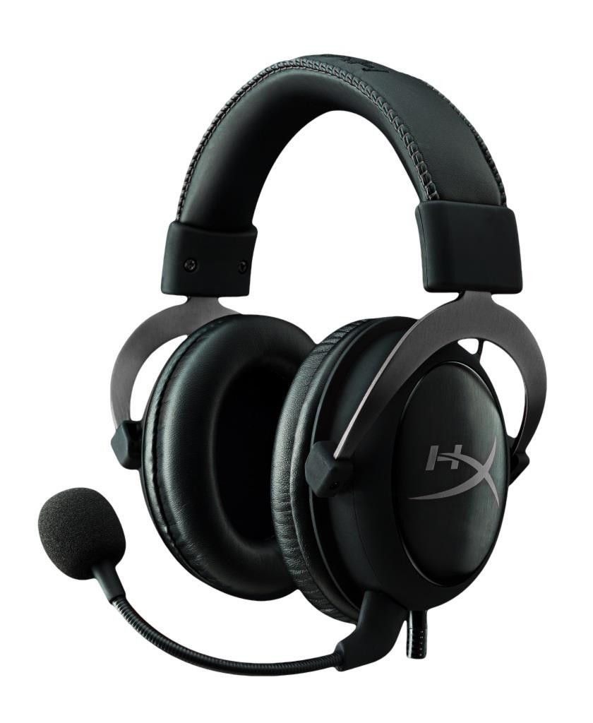 Kingston słuchawki dla graczy HyperX Cloud II - Stalowoszary