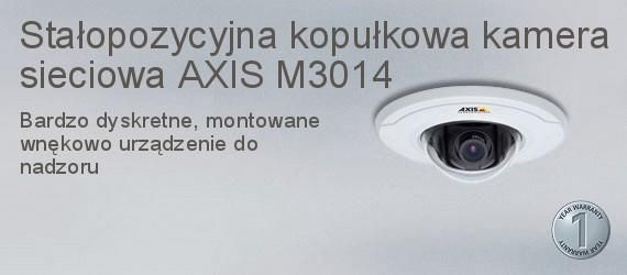 Axis Communications AXIS M3014 KAMERA IP KOPUŁOWA