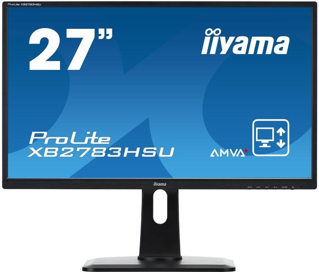 iiyama Monitor XB2783HSU-B1DP, 27inch, IPS, Full HD, DVI, DP, USB, głośniki