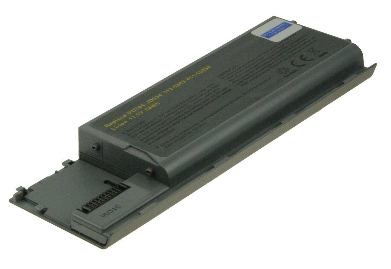 2-Power Bateria do laptopa 11.1v 4400mAh Dell Latitude D620