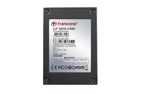 Transcend SSD 64GB 2.5'' SATA3 (MLC) -40C~85C with Iron Case