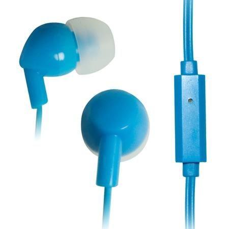 Vakoss Słuchawki douszne stereo z mikrofonem SK-211EB niebieski