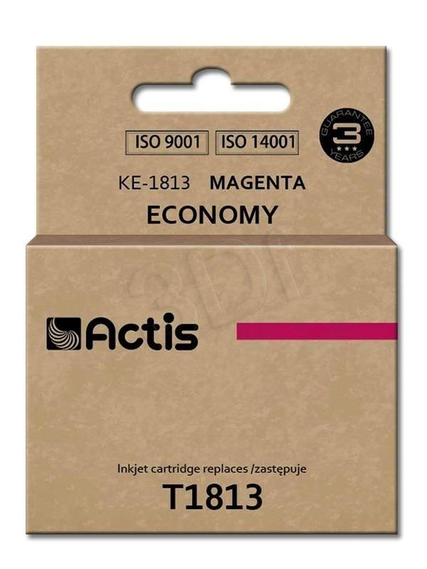 Actis KE-1813 tusz magenta do drukarki Epson (zamiennik Epson T1813) Standard