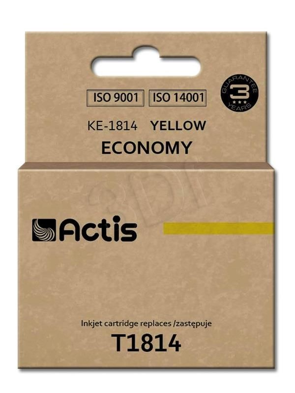 Actis Tusz Actis KE-1814 (do drukarki Epson zamiennik T1814 standard 15ml yellow)