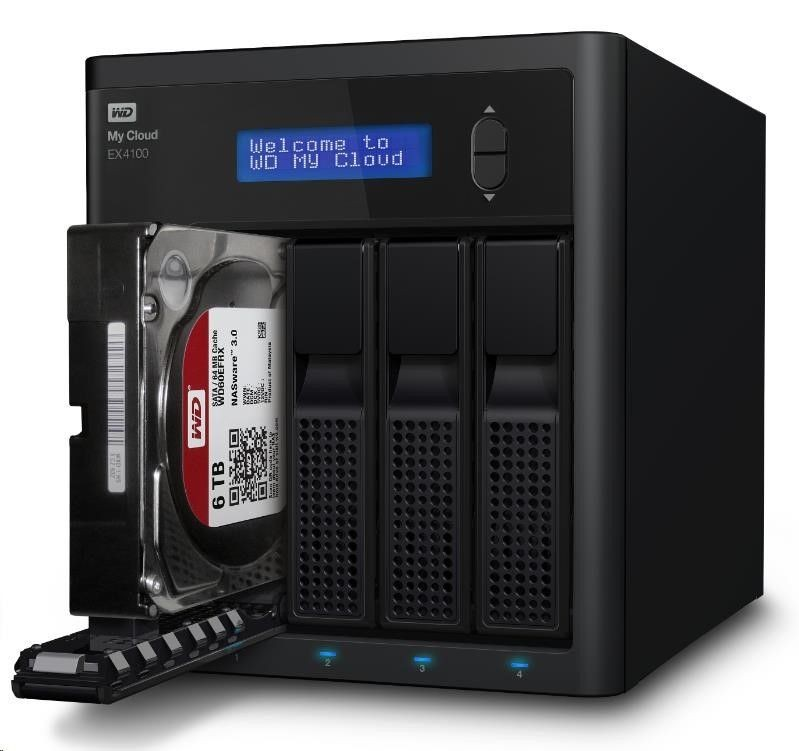 Western Digital NAS 3.5 WD My Cloud EX4100 8TB LAN