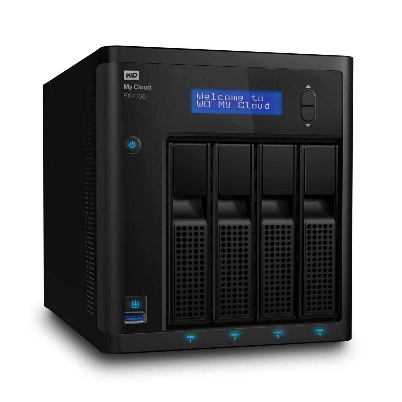 Western Digital NAS 3.5 WD My Cloud EX4100 0TB LAN