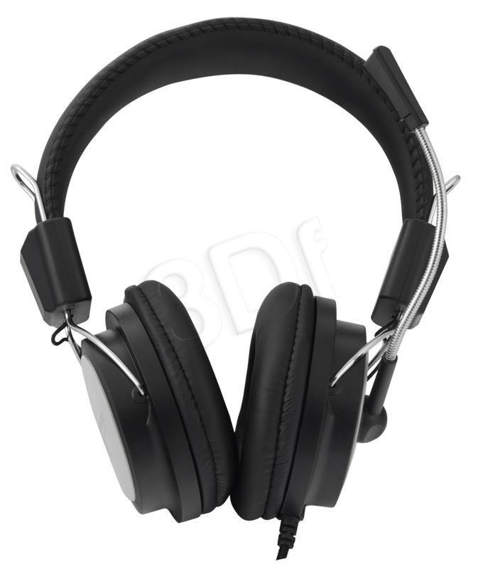 Esperanza Słuchawki z mikrofonem Czarno-szary EH154K