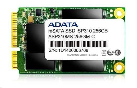 A-Data SSD PremierPro SP310 256 GB mSATA3 JMF667