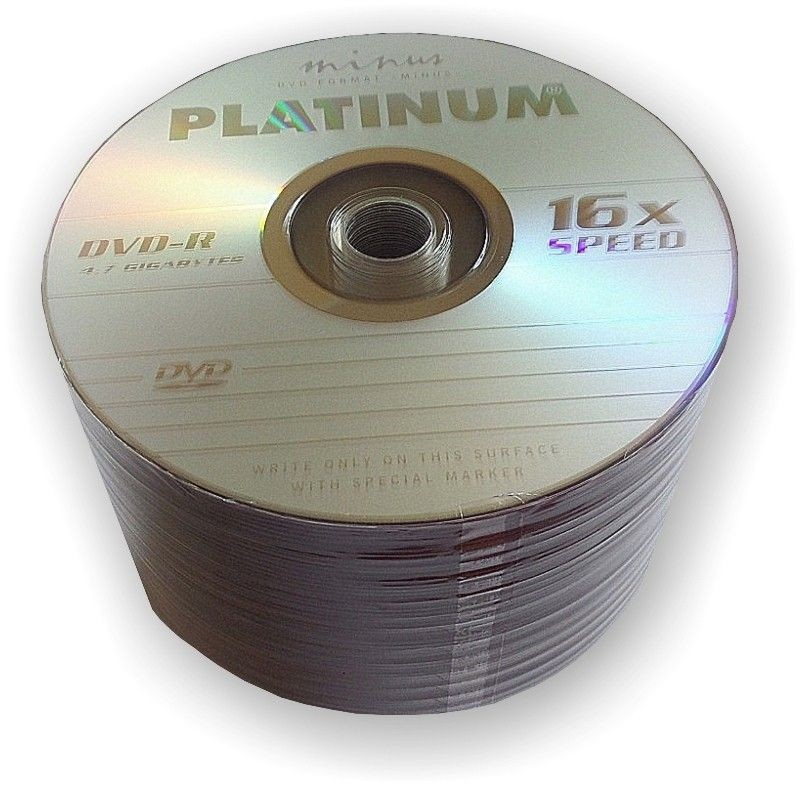 Platinum DVD-R PLATINUM 4,7GB 16x SZPINDEL 50 SZT