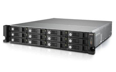 QNAP TVS-1271U-RP-i5-16G 12x 0HDD 16GB 3,0GHz 4LAN