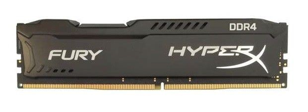 Kingston HyperX FURY 4GB 2133MHz DDR4 CL14 DIMM 1.2V, Czarna