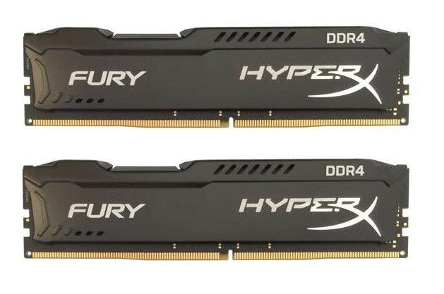 Kingston HyperX FURY 2x4GB 2133MHz DDR4 CL14 DIMM 1.2V, Czarna