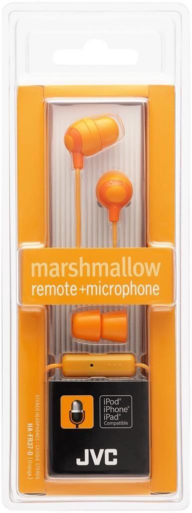 JVC Słuchawki douszne HA-FR37-D membrana 8.5mm, Pilot&mic