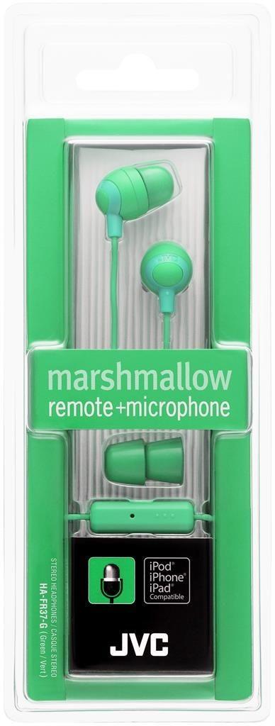 JVC Słuchawki douszne HA-FR37-G membrana 8.5mm, Pilot&mic