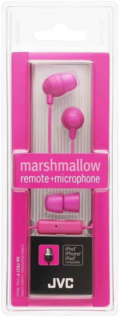 JVC Słuchawki douszne HA-FR37-P membrana 8.5mm, Pilot&mic