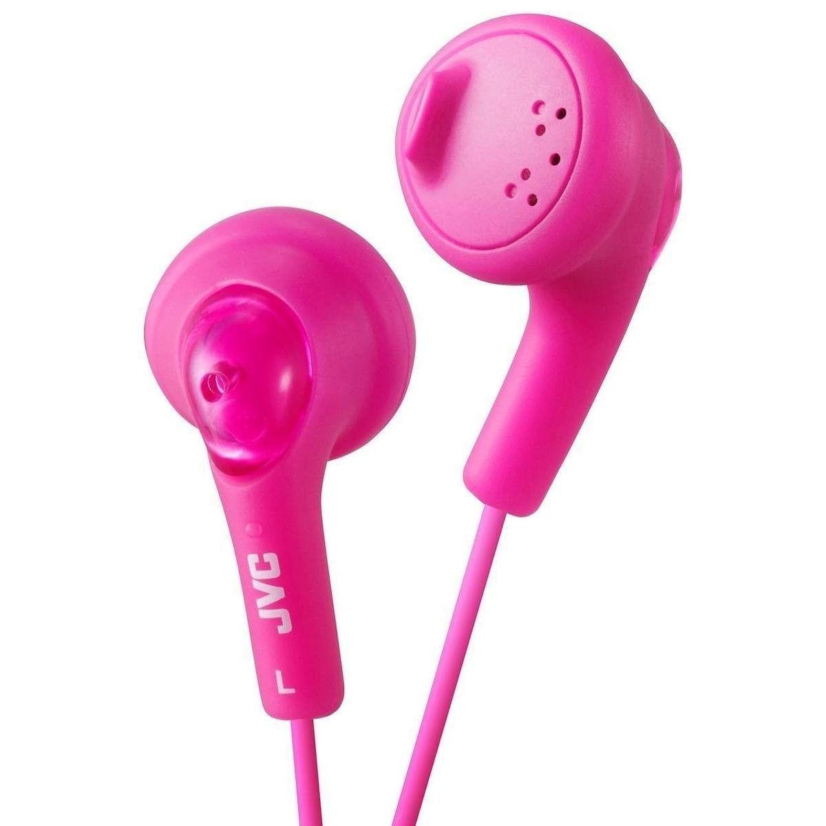 JVC Słuchawki douszne HA-F160-P membrana 13.5mm