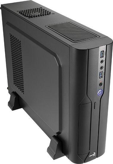 Aerocool PGS CS-101 BLACK Obudowa Micro-ATX, USB 3.0, bez zasilacza