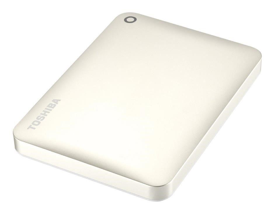 Toshiba Dysk zewnętrzny Canvio Connect II HDTC820EC3CA ( 2 TB ; 2.5 ; USB 3.0 ; złoty )