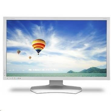 NEC MT 24 LCD MuSy PA242W-SV2 White GB-R LED AH-IPS,1920x1200/60Hz,6ms,1000:1,350cd,DVI+HDMI+VGA+DP,USB(2+3)gam 102%Ad