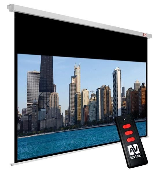 AVTek Ekran elektryczny Cinema Electric 200 (200 x 200 cm) - 16:9